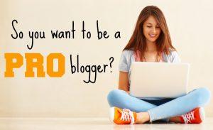 Ce inseamna sa fii blogger profesionist